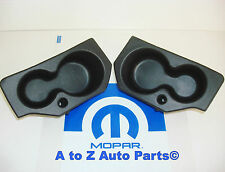 NEW 2009-2017 Dodge Ram 1500-3500 Door Panel FOAM CUP HOLDER Insert SET,OE Mopar
