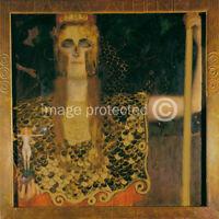 Gustav Klimt Fine Art Poster Print Pallas Athene -24x36