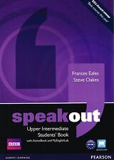 Pearson SPEAKOUT Upper-Intermediate Students Book w ActiveBook+MyEnglishLAb @NEW
