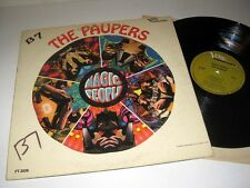 Canadian Garage-Psych THE PAUPERS Magic People MGM VERVE FORECAST FT-3026 Mono