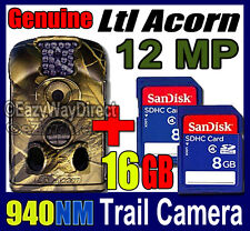 Ltl Acorn 12MP Hunting Trail Game FREE 16 GB SD Farm Gate security night Camera