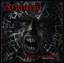 Overthrow Within Suffering CD Sealed OOP Sepultura Death Thrash Limited OFFICIAL