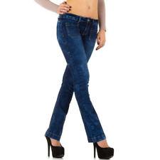 Niedrige Damenhosen Hosengröße 34 für Damen aus Baumwolle