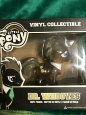 MY LITTLE PONY DR WHOOVES VINYL CLEAR GLITTER FIGURE