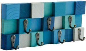 Unique Key Holder for Wall - Key Hooks 3D Wooden Key Hanger Key Rack Storage