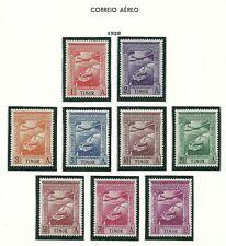 Timor 1938 - Airmail Portuguese Colonial Empire set MNH (except 5a MH)