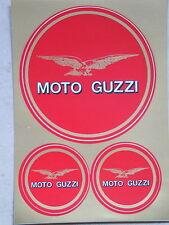 2 Sets 6 Stück Aufkleber Moto Guzzi  Neu (Nr.1506)