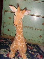 Giraffe Stuffed Animal Plush Laying down safari animal 22 in tall sweet toy