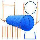 Dog Agility Course Equipments, Obstacle Agility Training Starter Kit for Doggie,