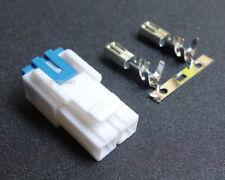 2-Pin Power Cord Connector Plug for Kenwood TK690 760 TK790 TK7150 TK7189 TK8189