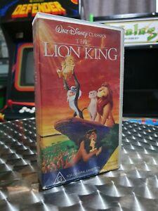 The Lion King - Walt Disney - VHS Video Tape