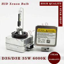 2 PCS 35W D3S D3R 6000k HID Xenon Headlight Bulbs Lamp Replace for Philips Osram