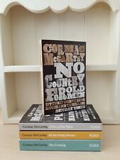Collection of 4 x Paperback Books Action Adventure Fiction Cormac McCarthy - NEW