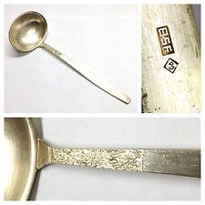 Suppenkelle Besteck BSF Rauhreif  90 er Silberauflage versilbert Kelle Zubehör