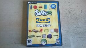 THE SIMS 2 IKEA HOME STUFF - PC GAME ADD-ON EXPANSION - FAST POST - COMPLETE VGC