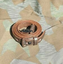German Army K98 Rifle Sling ww2 mauser brown leather sling NEW