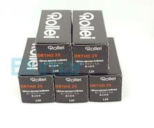 5x Rollei ORTHO 25 plus 120 Medium Format B&W film ISO 25 extremely fine grain