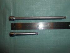 2 Vintage Craftsman V Socket Ratchet Extensions 3 Amp 6 14 Drive