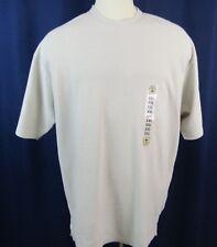 Original Island Sport Mens Pullover Shirt 2X-Large Sand Ribbed New