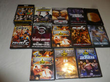 FIGHTING DVD LOT ULTIMATE FIGHTER KING OF THE CAGE JAPAN UFC 66 TITANS COLLIDE
