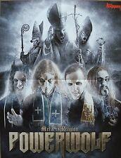 Machine Head / Powerwolf  __   Poster / Plakat   __   Size  45 cm x 57 cm