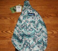 KAVU Rope Bag Sling Glacier IKAT Crossbody Backpack Travel Polyester RARE NWT