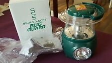 "Skin So Soft Bug Guard Plus Lantern Radio FM 4"" Tall Avon BNIB"