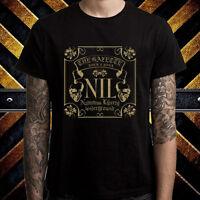 The Gazette NIL J-Rock Album Logo Men's Black T-Shirt Size S to 3XL