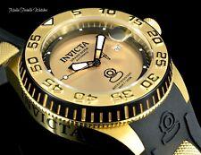 NEW Invicta 47mm Grand Diver AUTOMATIC Gold Tone Dial Black Silicone Strap Watch