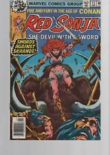 RED SONJA  13  1ST SOLO SERIES    BRONZE AGE   MARVEL COMICS