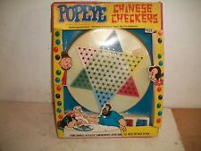 1971 Popeye Chinese Checkers Game King Features Syndicate Nos