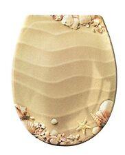 Kleine Wolke 1826222075 spiaggia della sabbia-Sedile per WC, in plastica, (y2b)
