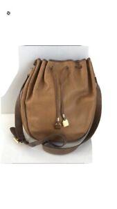 LOEWE  Old Loewe Drawstring Shoulder Bag leather Vintage