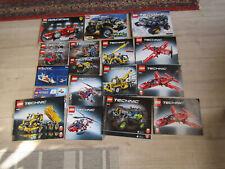 Lego Technic diverse Bauanleitungen
