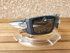 Oakley Fuel Cell Alinghi polished grey / black iridium polarized Rare Collector