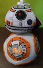 "Underground Toys Star Wars E7 Talking BB8 4"" Plush Boys & Girls New 2016"