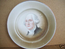 """George Washington Collectible 8 3/4"""" Plate By Johnson Brothers England"""