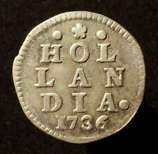 Niederlande, Provinz Holland, 2 Stüber (2 Stuiver) 1736