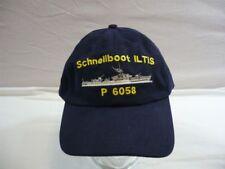 3c2162311d781d Bundesmarine Baseballcap Schnellboot Iltis P6058, Kappe mit Stickerei, Neu