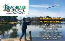 Beachrake PRO Lake Rake: Scoops Shells. Cuts Weeds. Skims Scum. Lightweight!