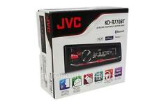JVC KD-R770BT CD/MP3 Player Bluetooth iHeart Radio Pandora Front USB AUX Input