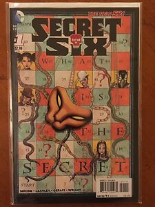 Secret Six (2014 4th Series) #1A Iconic Cover Comic Book NM+