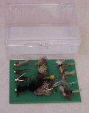 Box of 12 Custom Angler West Best Hand Tied Fly Assortment Fishing Flies