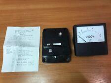 Panel Meter Ac 0 500v E8030t2 60 Hz Nos Lot Of 1