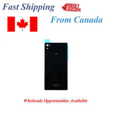 Sony Xperia Z2 L50W D6502 D6503 D6543 Battery Back Glass Cover Black