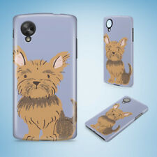 YORKSHIRE TERRIER DOG 1 HARD PHONE CASE COVER FOR NEXUS 5 5X 6 6P