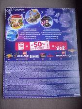-50% Gutschein Sealife, Legoland, Heide Park, Dungeons, Madame Tussauds usw.