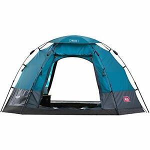 FASTCAMP Hexagon6 5-Person pop up Automatic TentCamping TentSingle Awning Ext...