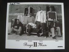 Boyz II Men PROMO PRESS PHOTO 8X10 ARISTA C