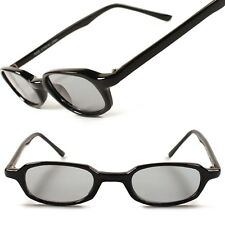 Classic 80's Hipster Vintage Retro Mens Womens Small Rectangle Sunglasses E71B